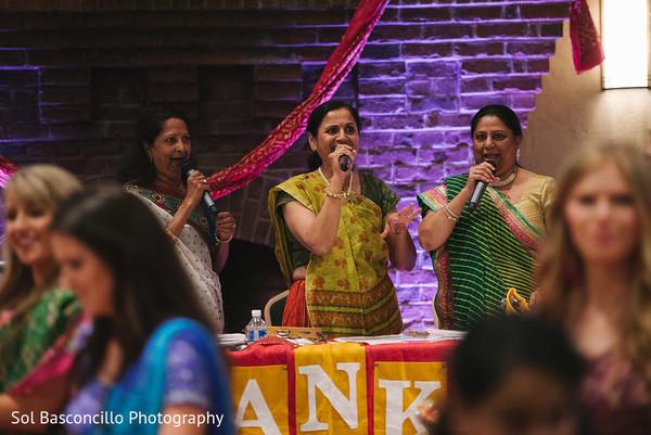 Indian ladies singing photography