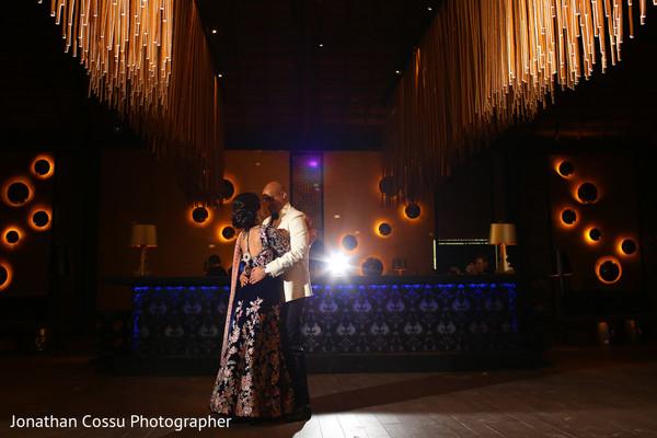 Dreamy venue decor and lighting