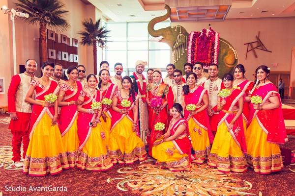 indian bridesmaids,indian groomsmen,wedding fashion