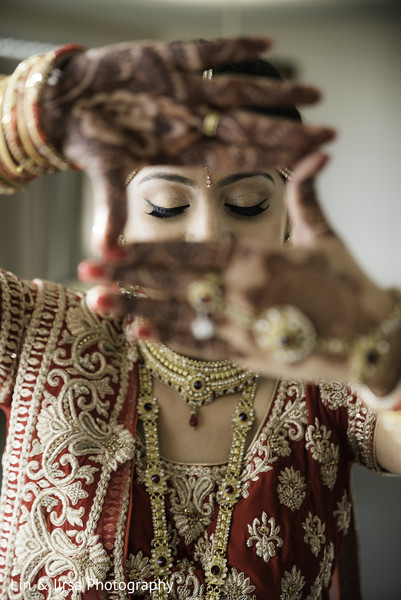 indian bride,indian bride makeup