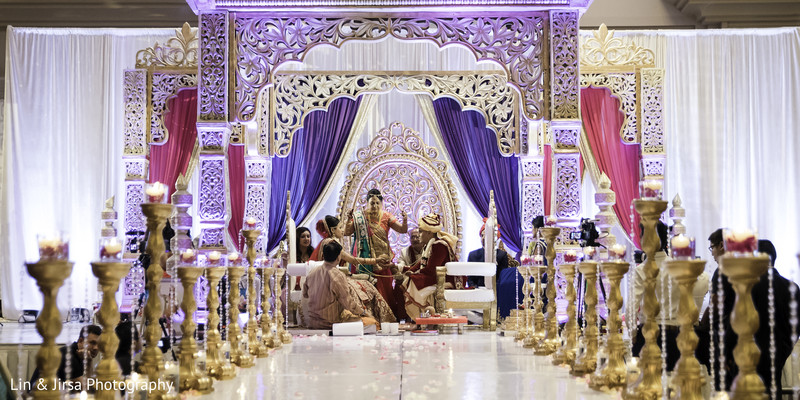 indian wedding ceremony,indian wedding mandap,indian wedding floral and decor