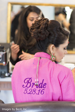 Indian bride hair and makeup