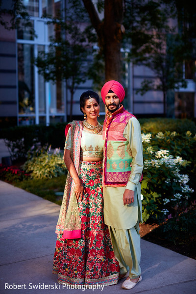indian sangeet,indian bride and groom,indian bride