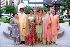 Family portrait for sangeet.