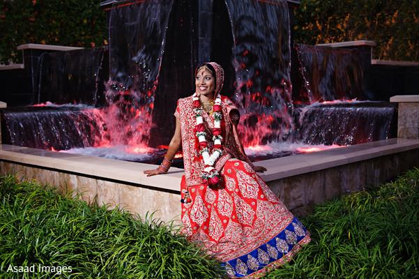 indian bridal lengha,bride bangles,indian bride hair and makeup
