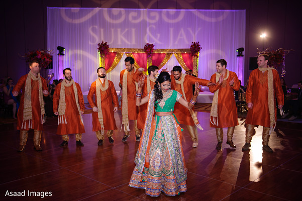 indian wedding gallery,monogramed dance floor,lightning