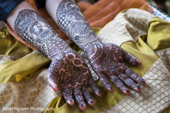 indian bridal mehndi,indian pre-wedding celebrations,indian bride