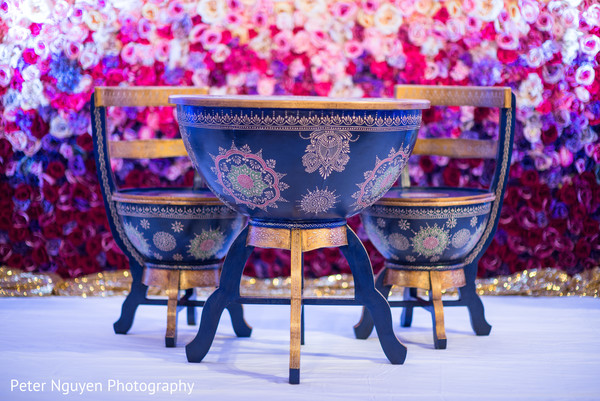 Inspiring sweetheart table. in Atlanta, GA Indian Wedding by Peter Nguyen Photography