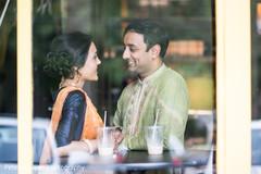 indian bride and groom,indian sangeet