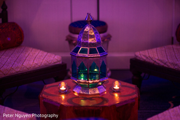 Lovely indian wedding lamp decor. in Atlanta, GA Indian Wedding by Peter Nguyen Photography