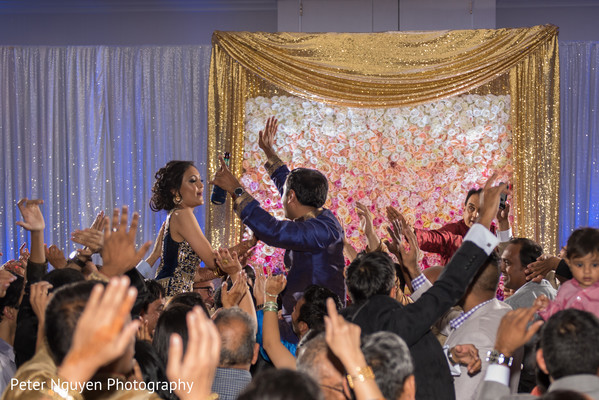 Marvelous indian wedding reception. in Atlanta, GA Indian Wedding by Peter Nguyen Photography