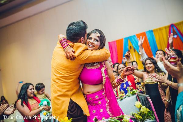 indian pre-wedding celebrations,indian sangeet,indian bride