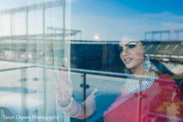 indian bride,indian fusion wedding reception