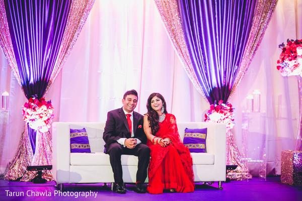 indian wedding reception,indian bride,reception stage