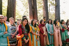 indian bridesmaids' fashion,outdoor photography,pre-wedding ceremony photography