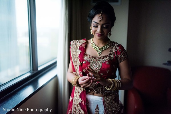 Beautiful Gujarati bride