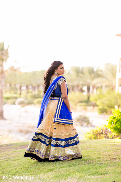 Maharani's pre-reception photo session. in Nieuwpoort, Curaçao Indian Wedding by KSD Weddings