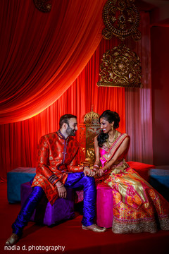 indian bride,indian groom,indian pre-wedding celebrations,indian wedding portrait,indian sangeet