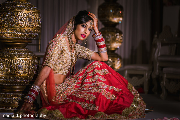 Bridal photo session. in Cincinnati, OH Indian Wedding by Nadia D Photography