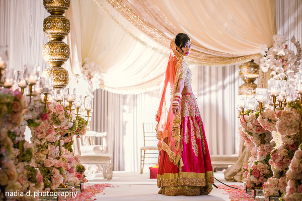 indian wedding floral and decor,indian bride,indian wedding portrait,indian bridal fashions
