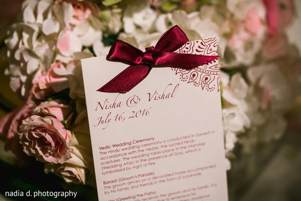 Indian wedding ceremony program. in Cincinnati, OH Indian Wedding by Nadia D Photography