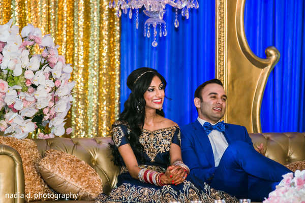Graceful indian bride and groom in Cincinnati, OH Indian Wedding by Nadia D Photography
