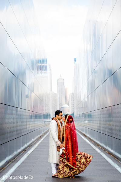 indian bride,outdoor photography,indian groom fashion