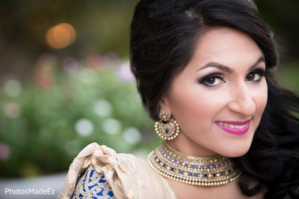 indian bride hair and makeup,outdoor photography,indian bridal fashions