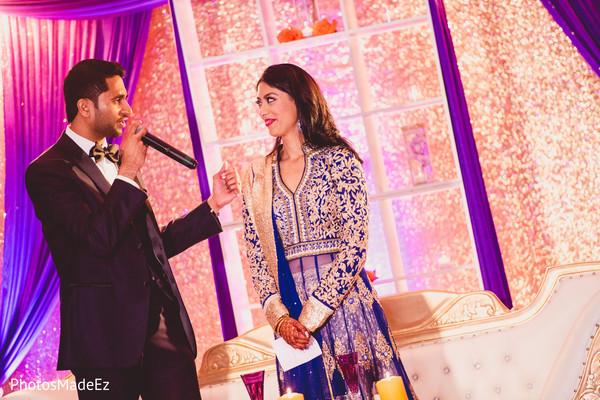 lightning,indian bride reception fashion,indian groom fashion