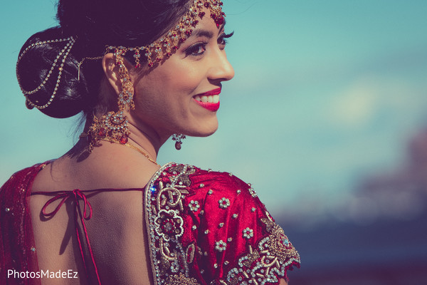 pre-wedding ceremony photography,indian bride hair and makeup,indian bridal jewelry