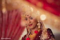 indian bride makeup,bridal tikka,indian wedding mandap