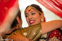 bridal tikka,indian bride hair and makeup,indian wedding gallery