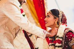 mangalasutra ritual,indian wedding ceremony floral and decor,indian groom sherwani
