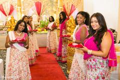 indian bridesmaids,indian sari