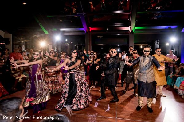pre-wedding ceremony photography,indian pre-wedding celebrations,indian bridesmaids' fashion