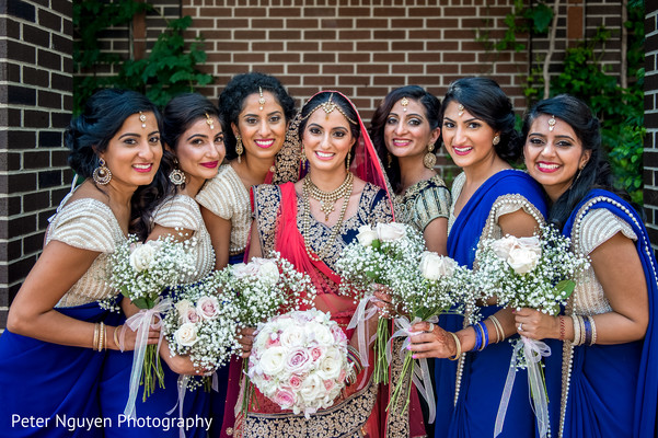 indian bride hair and makeup,outdoor photography,indian wedding ceremony floral and decor