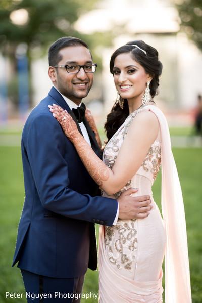 outdoor photography,pre-wedding reception photography,indian bride makeup
