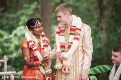 jaimala,indian fusion wedding
