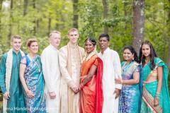 indian wedding,indian fusion wedding