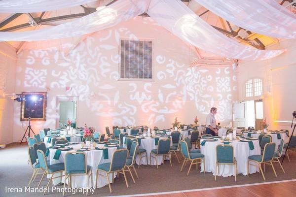 Beautiful lighting patterns in Wellesley, Massachusetts Fusion Indian Wedding by Irena Mandel Photography
