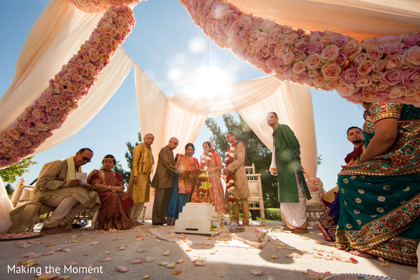 indian wedding ceremony,indian wedding floral and decor