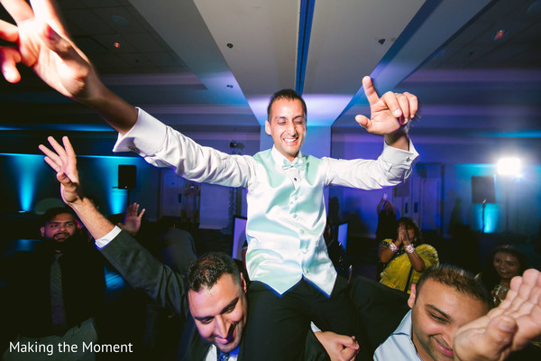 groom reception fashion,mint vest