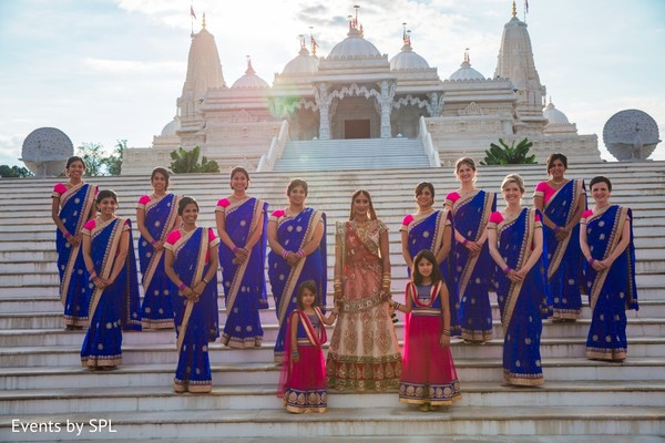 indian bride,indian bridesmaids