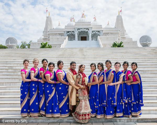 indian bride,indian wedding ceremony,indian bridesmaids