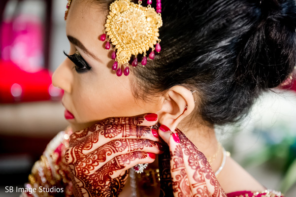 indian wedding,indian bride,indian bride getting ready,indian bride makeup