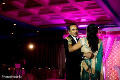 indian bride,indian fusion wedding reception,lightning,dj and entertainment