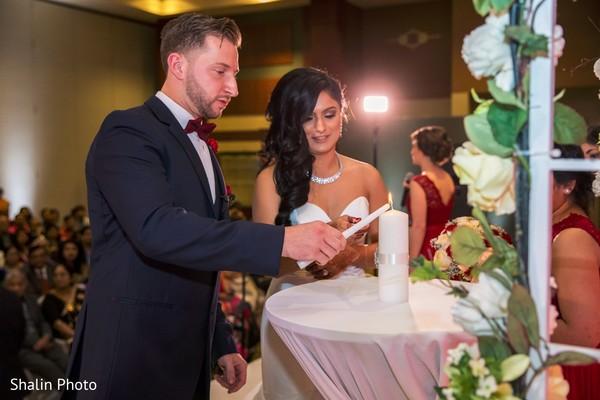 american wedding,indian fusion wedding
