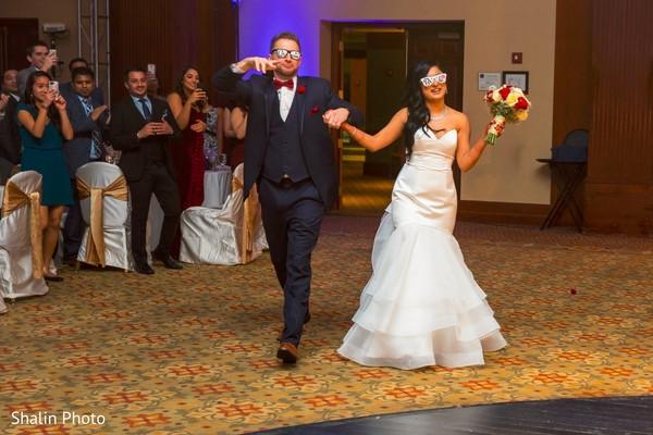 indian fusion wedding reception,indian wedding dress,tuxedo