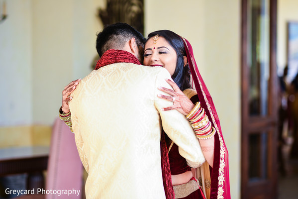 indian bride,first look photography,ceremony fashion