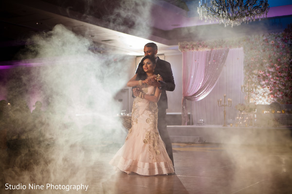 Awesome indian couple first dance.